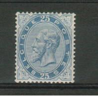 Belgique/België 40* - 1883 Leopold II.