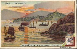 CHROMO LIEBIG GOLFI LES GOLFES GOLFO DI PETCHILI CHINE SERIE ITALIENNE - Liebig