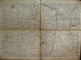 Stendal - Topographische Karte 73 - 26cm X 36cm - Reymann 's Special-Karte - Entwurf Und Gezeichnet F. Handtke - Situati - Topographische Karten