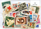 Lot 100 Timbres Croix Rouge Tous Pays - Timbres