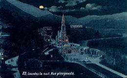 LOURDES - Lourdes La Nuit - Vue Plongeante - Lourdes