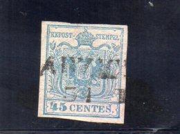 LOMBARDO-VENETIE 1850 O - Lombardy-Venetia