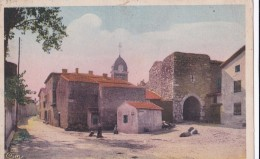 Carte 1930 SAINT ANDEOL LE CHATEAU / ENTREE DU VIEUX CHATEAU - Autres Communes