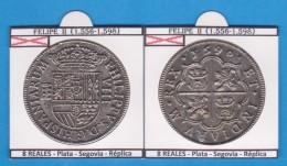 FELIPE II 8 REALES PLATA Segovia Réplica  T-DL-11.786 - Monedas Falsas