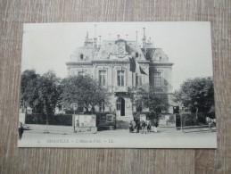 CPA 14 TROUVILLE HOTEL DE VILLE - Trouville