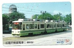Giappone - Tessera Telefonica Da 50 Yen T17 - NTT - Treni