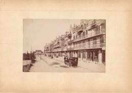 BERCK SUR MER - Photo Albuminée 12 X 18,5 Cm Contrecollée Sur Carton - Editeur  ND Phot. - Alte (vor 1900)