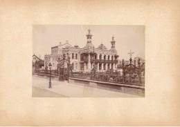 BERCK SUR MER, Le Kursaal - Photo Albuminée 12 X 18,5 Cm Contrecollée Sur Carton - Editeur  ND Phot. - Alte (vor 1900)