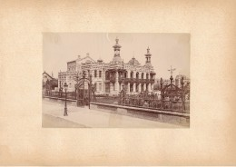 BERCK SUR MER, Le Kursaal - Photo Albuminée 12 X 18,5 Cm Contrecollée Sur Carton - Editeur  ND Phot.