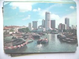 Singapore River And Harbour - Singapore