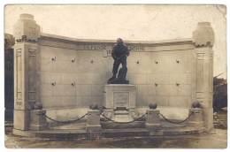 Carte Photo Monument 1870 à Identifier - Oorlogsmonumenten