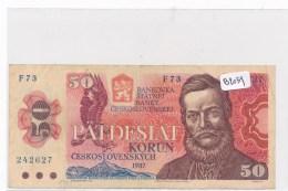 Billets -B2039- Tchécoslovaquie - 50 Pädesiat  Korun  1987 ( Type, Nature, Valeur, état... Voir Double Scan) - Czechoslovakia