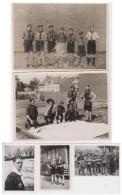 Lot 5 Photos Scoutisme 1944 - Scoutisme