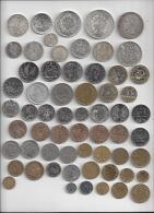 Lot De 94 Monnaies France Différentes De La Révolution à La Fin Du Fr Majorité Sup à Neuve  Dont 12 Argt Et 17 Commémo - France