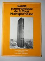 Guide Panoramique De La Tour Montparnasse - Tourisme