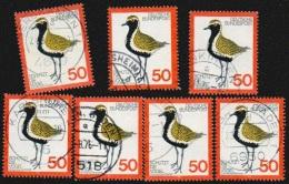 Deutschland BRD 1976 Michel 901 X7 Gestempelt Vogelschutz Goldregenpfeifer 50 Pf., Yv. 750, Sc. 1222 - Gebraucht