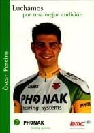 OSCAR PEREIRO  ..PALMARES AU  DOS.....CPM.. - Ciclismo