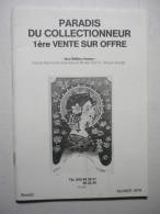 Paradis Du Collectionneur 1-ère Vente Sur Offre Aux Belles Choses Maison Baudet Février 1979 - Français