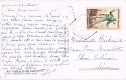 18177. Postal GULERIANT (Haute Savoie) 1954. Plateau D'Assy Et Montblanch - Francia