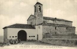 06 - Côte D'Azur - Le Cap Ferrat - La Chapelle De Saint-Hospice  . Tres Bon Etat  - 2 Scans - France