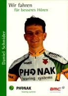 DANIEL SCHNIDER..PALMARES AU  DOS.....CPM.. - Ciclismo