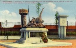 62 Bully Les Mines Monument  Soldat MARCHE,,,,Chateau D´Eau - France