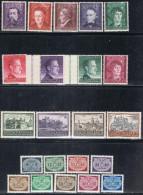 POL GG1- GOUVERNEMENT GENERAL TP N°107/19** SERVICE 1/9* - 1939-44: II Guerra Mondiale