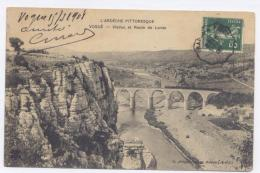 VOGÜE - Viaduc Et Toute De Lanas -1908- Bon état - France