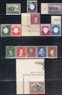 POL GG4- GOUVERNEMENT GENERAL TP ENTRE N°115 ET 136**/* - 1939-44: 2. WK