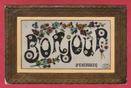 Everbeek / Everbecq  - Bonjour De ... - 1909  ( Verso Zien ) - Brakel