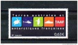 N° 681 2013 - French Southern And Antarctic Territories (TAAF)