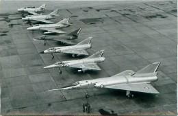 Photo Exploitation 12x18cm  1965 Mirage IV A - III R - III C - Etendard IV M - Super Mystère B2, Mystère IV A, Ouragan - Aviation