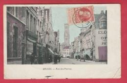 Brugge / Bruges - Rue Des Pierres - 1908 ( Verso Zien ) - Brugge