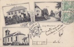 Montreux Jeune Jung-Münsterol 68 - Gruss Aus Jung Münsterol - Epicerie Perronal Rue Eglise - 1905 - RARE - Non Classés