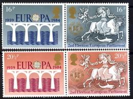 Gran Bretaña 1126/1129 ** MNH. 1984 - 1952-.... (Elizabeth II)