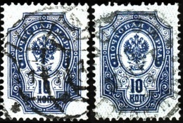 RUSSIE  1889-1904   -  YT  44  A + 44 B   - Oblitérés - Oblitérés