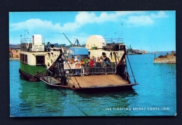ENGLAND  -  Isle Of Wight  Cowes  The Floating Bridge  Unused Postcard - Cowes