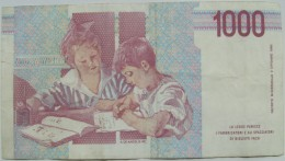 1000 Lire Mille - 1990 - [ 2] 1946-… : République