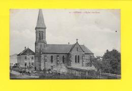 CPA 70 LIEVANS L Eglise Côté Ouest 1907 ( Travaux Arriére Plan ) - France