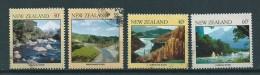 1981 New Zealand Complete Set Landscapes Used/gebruikt/oblitere - Nieuw-Zeeland