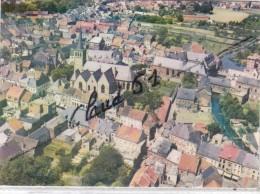 Belgique:LESSINES - Vue Aérienne .L'Eglise Saint Pierre .Le Monastère .La Grand'Rue - Lessines