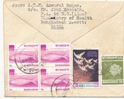 BANGLADESH - DACCA , 1975 , Brief Nach Berlin - Bangladesch