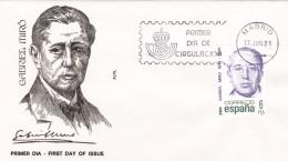España Sobre Nº 2495 - 1931-Hoy: 2ª República - ... Juan Carlos I