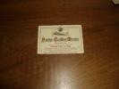 étiquette De Bouteille De Vin Des Années 1960              NUITS-CAILLES-MORIN..  Mis En Bouteille à Nuits-Saint-Georges - Bourgogne