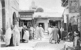 V3788 Cpa Tunis -   Rue Sidi Ben Ziad - Tunisie