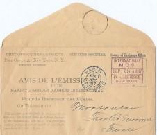 LCIRC6 - ETATS UNIS ENVELOPPE DE SERVICE VOYAGEE OCTOBRE 1887 - Marcophilie