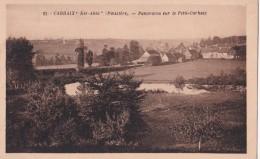 """Carte 1930 CARHAIX """"KER AHES"""" / PANORAMA SUR LE PETIT CARHAIX - Carhaix-Plouguer"""