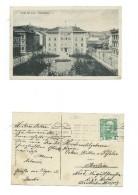 AK Urfahr Bei Linz - Rudolfplatz - 1.11.1913 - Echt Gelaufen - Linz Urfahr