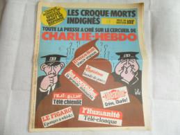ANCIEN /  CHARLIE HEBDO  N° 581 / SPECIAL DROIT DE REPONSES   / DECEMBRE  1982 / GEBE - Zeitschriften & Magazine