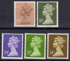 Gran Bretaña 1140/1144 ** MNH. 1984 - 1952-.... (Elizabeth II)